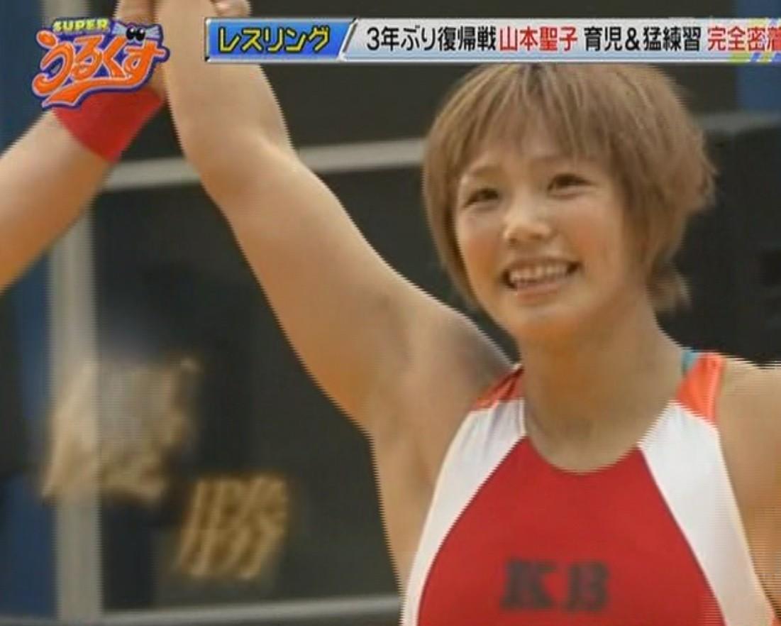 山本聖子復帰戦 / Seiko Yamamoto (NTV)