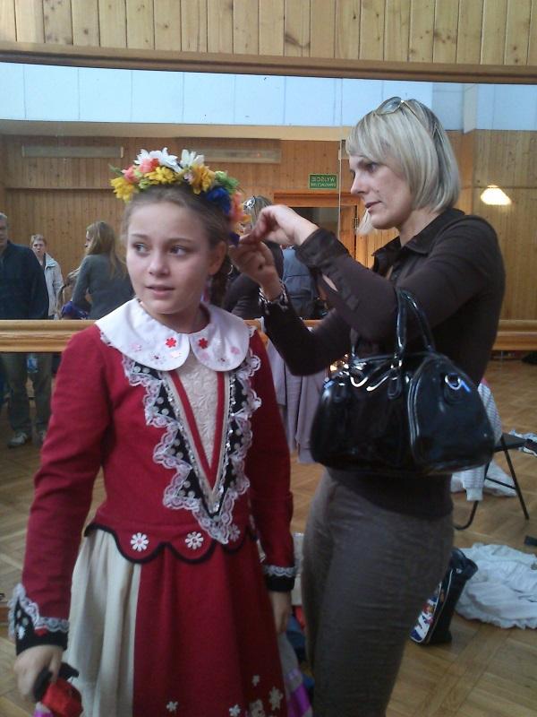 プウォツク・民族舞踊の少女 / Mała tancerka z Płocka (TVQ)